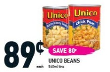 UNICO BEANS at Coppas Fresh Market