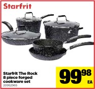 Starfrit The Rock 8 piece forged cookware set