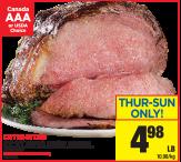 CAP-OFF prime rib premium oven roast