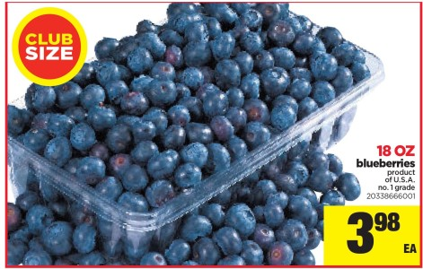 Club Size 18 Oz Blueberries At Real Canadian Superstore