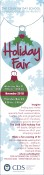 THE COUNTRY DAY SCHOOL PARENT ASSOCIATION PRESENTS the Holiday Fair