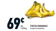 FRESH BANANAS at Coppas Fresh Market