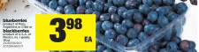 Blueberries product of Peru