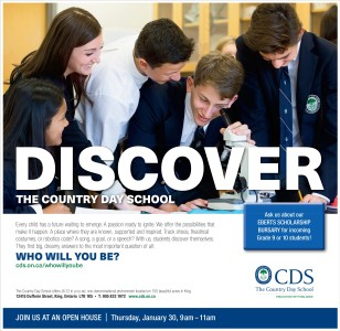 Ask The Country Day School About Eberts Scholarship Bursary