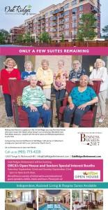 Only A Few Suites Remaining At Oak Ridges Retirement